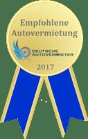 Gütesiegel 2017 FR-Rent